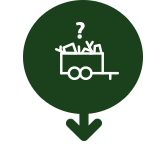 Vogn med affald infographic